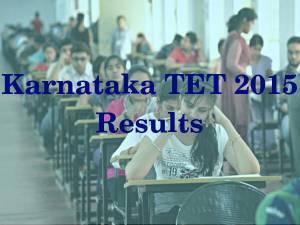 Karnataka TET 2015: Results, Merit List Released