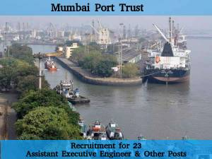 Mumbai Port Trust, Recruits 23 Posts 2016