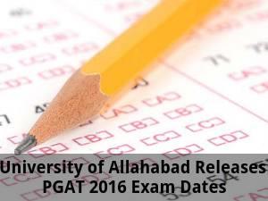 PGAT 2016 Exam Dates Released