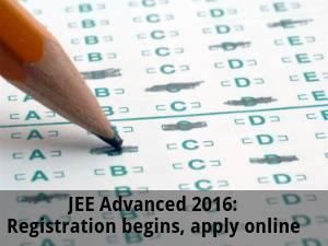 JEE Advanced 2016: Registration Begins