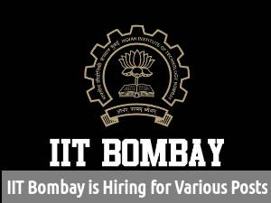 IIT Bombay Recruiting for 16 Various Posts