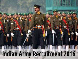 Indian Army is Hiring for 90 Posts 2016