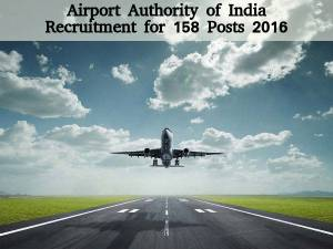 AAI is Hiring for 158 Posts 2016