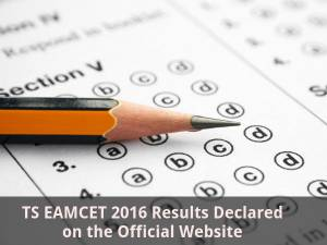 TS EAMCET 2016 Results Declared