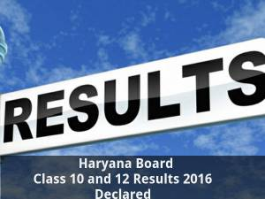 Haryana Board Class 10 and 12 Results Declared