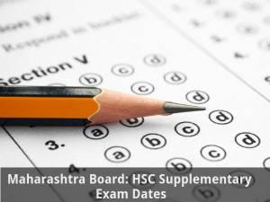 Maharashtra Board: HSC Supplementary Exam Dates