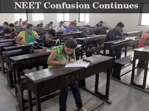 NEET ordinance cleared, confusion hardly cleared