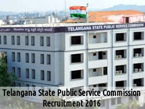 TSPSC Recruiting for 477 Posts 2016