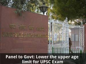 Panel: Lower the upper age limit for UPSC Exam