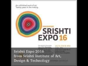 Srishti Expo 2016 will tak place in Bangalore