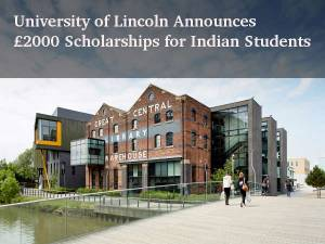 Univ of Lincoln's Global PG Scholarships of £2000