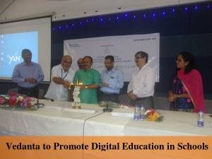 Vedanta to Promote Digital Education in Schools