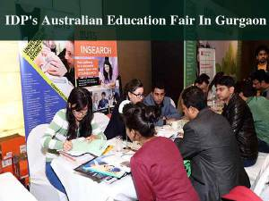 IDP's Australian Education Fair in Gurgaon