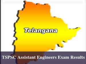 Telangana TSPSC Assistant Engineers Exam Results