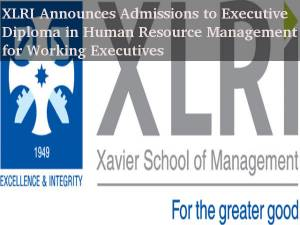 XLRI offers Executive Diploma in HRM