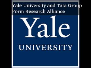 Yale University and Tata Form Research Alliance