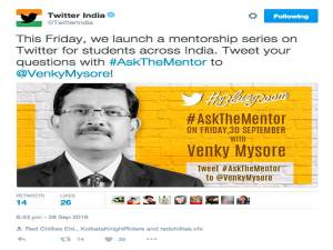 Twitter India launches new mentorship program