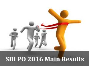SBI PO 2016 Main Exam Results To Be Declared Today
