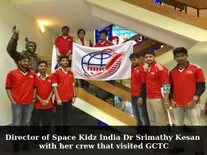 Workshop on aerospace and satellites held