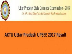 AKTU UPSEE 2017 Results Declared