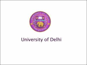 DU To Start Admissions for Journalism Course
