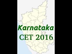Karnataka Cet 2016 Revised Exam Time Table