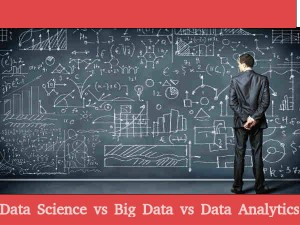 Difference Between Data Science Big Data Data Analytics