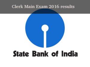 Sbi Clerk Main Exam 2016 Results Expected Be In November