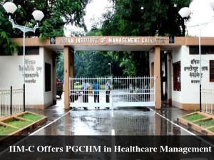 Iim C Offers Pgchm Healthcare Management