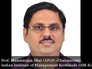 An Interview With Prof Manoranjan Dhal Epgp Chairperson Iim Kozhikode