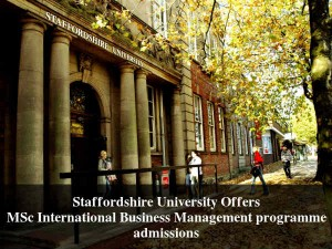 Su Offers Msc International Business Management Programme Admissions