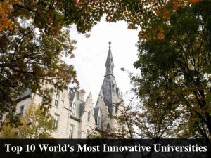 Top 10 World S Most Innovative Universities By Reuters