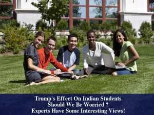 Will Trumps Presidency Hinder Indian Students Study In Usa