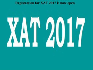 Two More Days Left Xat 2017 Registration Apply Now