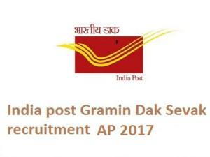 Andhra Pradesh Recruitment For Gramin Dak Sevak Posts Apply Now