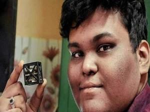 Young Scientist Scores 75 2 Designs Satellite For Nasa