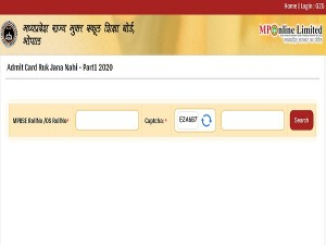 Mpsos Admit Card 2020 For Class 10th And 12th Ruk Jana Nahi In August