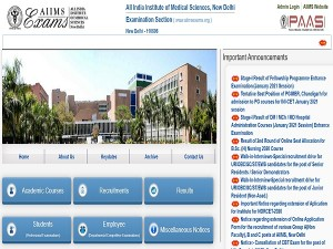 Ini Cet 2021 Results How To Check Ini Cet Result 2021 At Aiimsexams Org