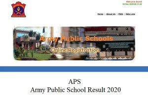 Army Public School Result 2020 Check Aps Csb Result 2020 For Prt Pgt And Tgt