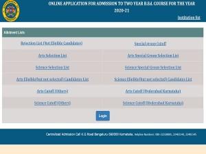 Karnataka Bed Result 2021 Declared Check The Link At Schooleducation Kar Nic In