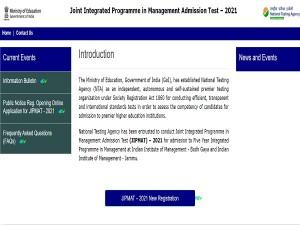 Jipmat 2021 Registration Exam Date And Application Fee