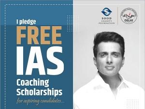 Sonu Sood Free Ias Coaching Scholarships 2021
