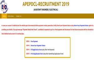 APEPDCL Recruitment 2019 For Assistant Engineer/Electrical Posts; Earn Up To Rs 92,965 Per Month