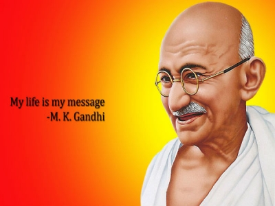 quotes by mahatma gandhi on education career