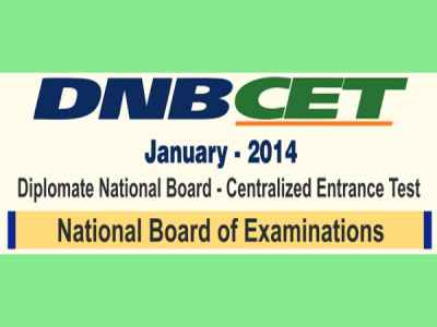NBE to announce DNB CET 2014 results in January