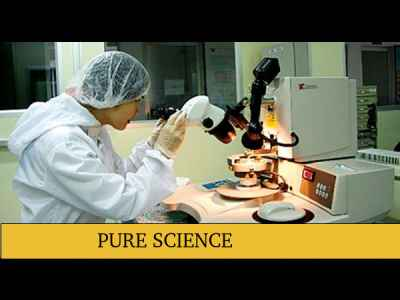 Career Options for Pure Science