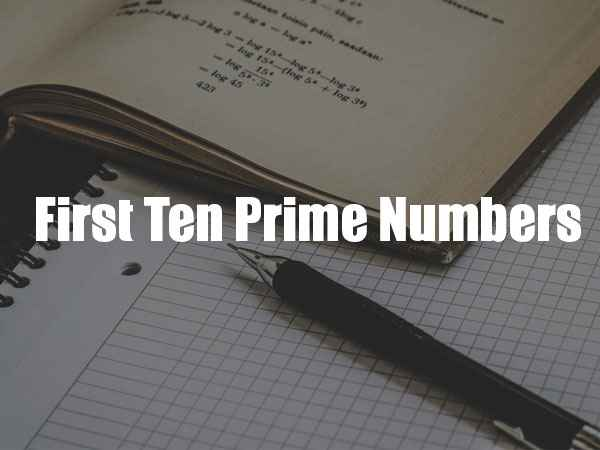 prime numbers worksheet with answers