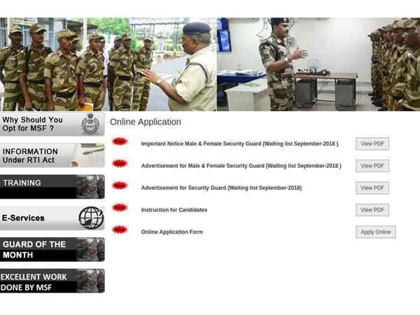 Maharashtra Govt Jobs 2018: 1500 Vacancies Open For Security