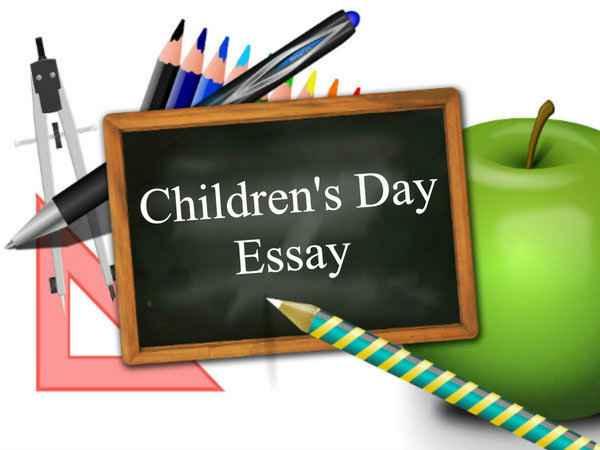 essay writing children39s day