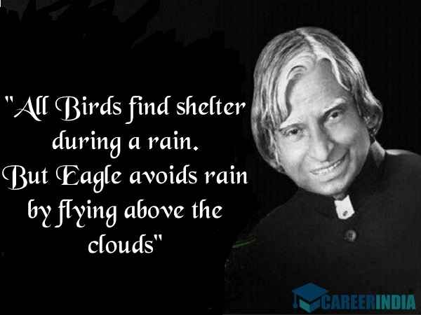 Abdul Kalam Quotes In English For Students On Education Dreams Life And Success Careerindia